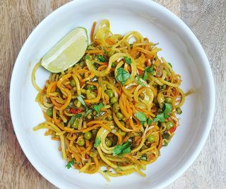 Singapore Sweet Potato Noodles