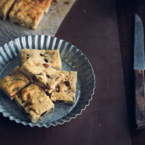 Paleo Raisin Walnut Energy Bars