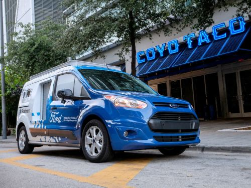 Ford's 'Self-Driving' Vans Are Now Delivering Food in Miami