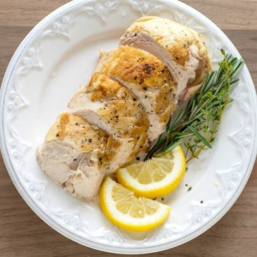 Sous Vide Chicken Breast with Lemon