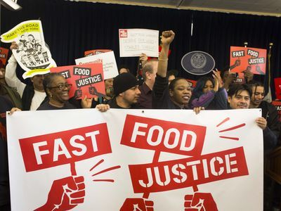 More Than 1,200 Fast-Food Workers Are Organizing in NYC