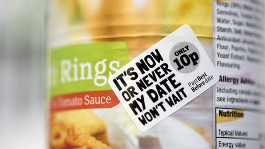 To Cut Waste, U.K. Grocery Chain Will Sell Products Past 'Best Before' Dates