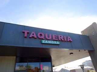 An Early Sunday Morning Visit to Taqueria Zamora