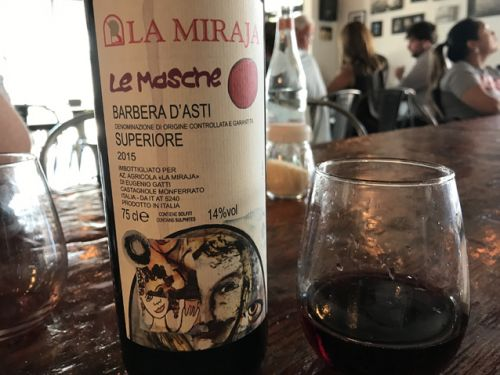 A Barbera d'Asti that fired on all cylinders and an all-American pairing