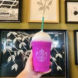 There's a New Starbucks Secret Menu Item in Town, and It's a Bright Purple Frappuccino