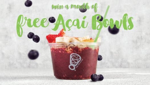 Juice It Up! Celebrates April Açaí Month with Super Giveaway