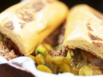 Watch: Carnitas Po' Boys Are the Ideal Mexico and American Gulf Hybrid