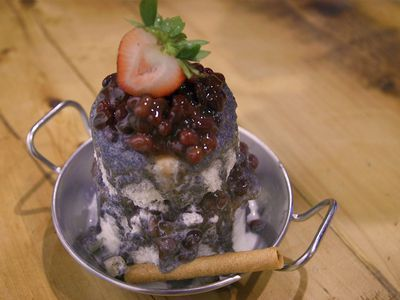 Watch: Milky, Icy Patbingsoo Is the Perfect Dessert for the End of Summer