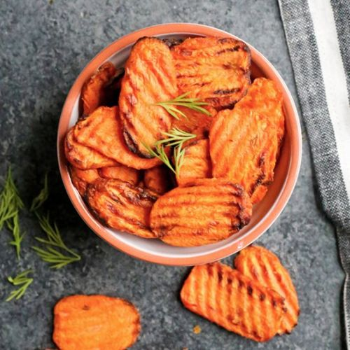 Paleo Whole30 Air Fryer Carrots