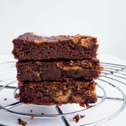 Healthy black beans brownies