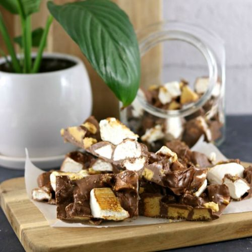 Easy S'mores Rocky Road