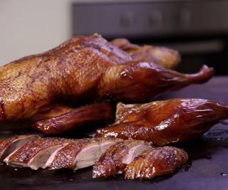 How to Smoke a Whole Duck