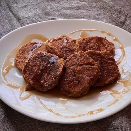 Sweet Potato, Apple, & Oat Pancakes