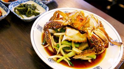 Watch: Soy Marinated Raw Crab Is the Wagyu of Crustaceans