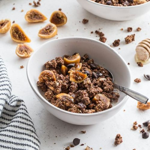 Chocolate Fig Grain-Free Granola
