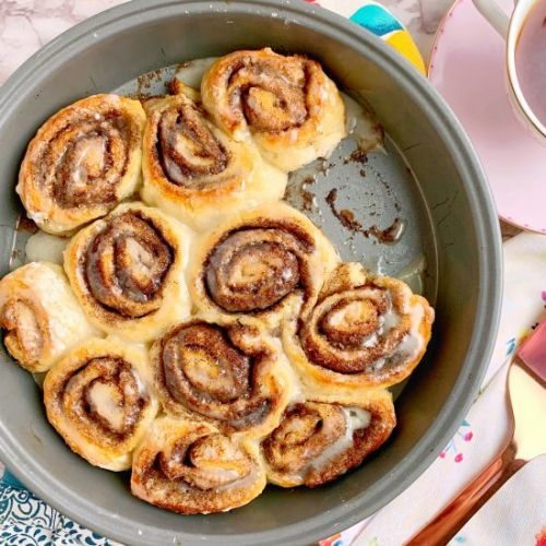 2 Ingredient Dough Cinnamon Rolls