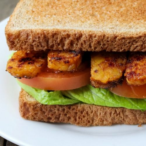 10 Minute Tempeh Bacon BLT's