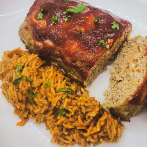 BBQ Glazed Turkey Meatloaf