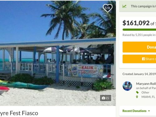 GoFundMe for Restaurant Ripped Off by Fyre Festival Raises More Than $150K