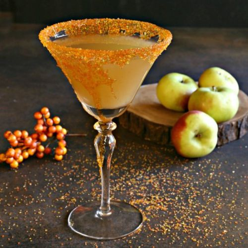 Autumn Harvest Bourbon Ginger Fizz
