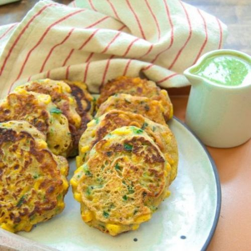 Summertime Sweet Corn Fritters