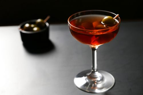 Pisco Manhattan: El Capitán