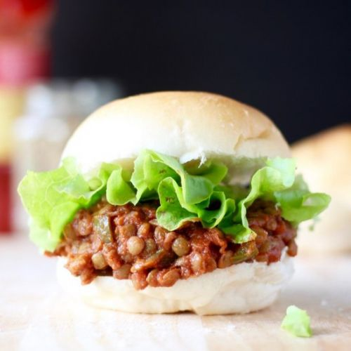Hearty Lentil Sloppy Joes