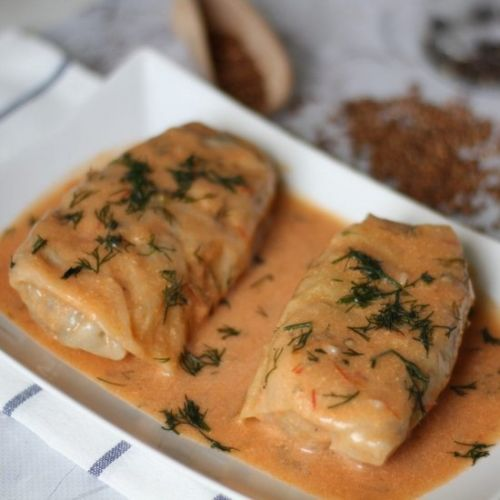 Cabbage rolls - Polish recipe