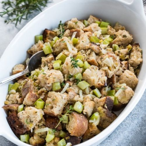 Easy Slow Cooker Stuffing