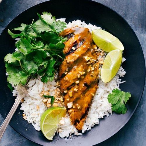Grilled Curry Chicken