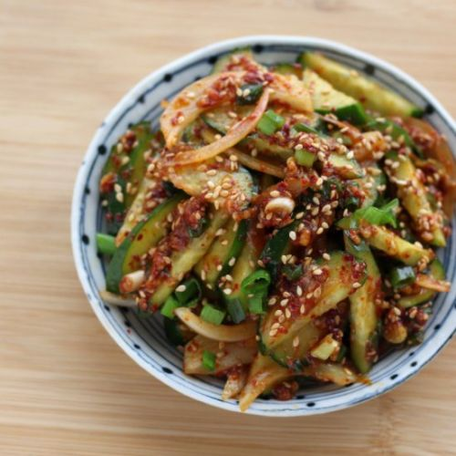 Spicy Cucumber Banchan