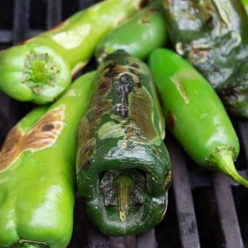 Roasting and Freezing Peppers