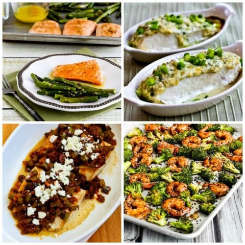 My Favorite Low-Carb and Keto Oven-Baked Fish Dinners