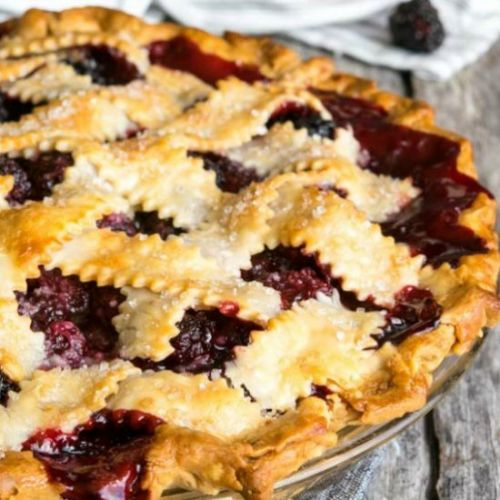 Easy Blackberry Pie