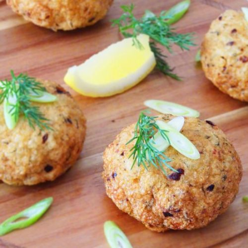 Vietnamese Fish Cakes with Dill