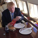 Trump's Calorie-Packed McDonald's Order Has Been Revealed, and I'm Honestly Unwell