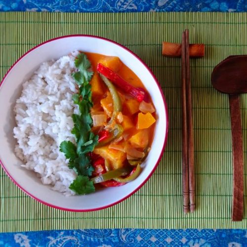 Tropical Thai Red Curry