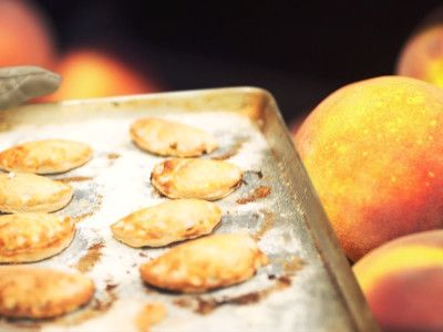 Watch: Peach Empanadas Perfectly Blend Mexico and the American South