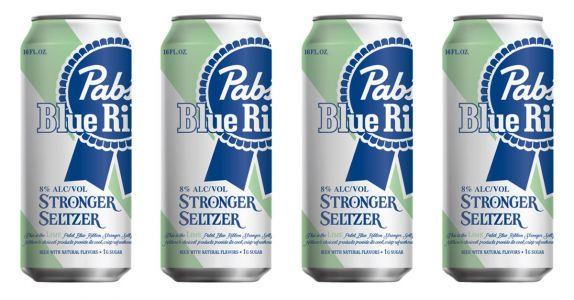 Pabst Blue Ribbon Launches 8-Percent ABV 'Stronger' Seltzer