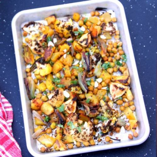 Indian Spiced Roasted Squash