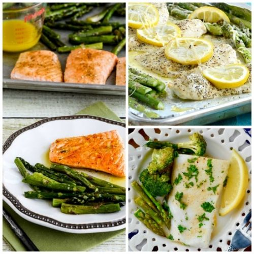 Low-Carb Sheet Pan Meals with Asparagus