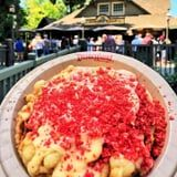 I Don't Know How to Feel About Disneyland's Funnel Cake With Cheese and Hot Cheetos