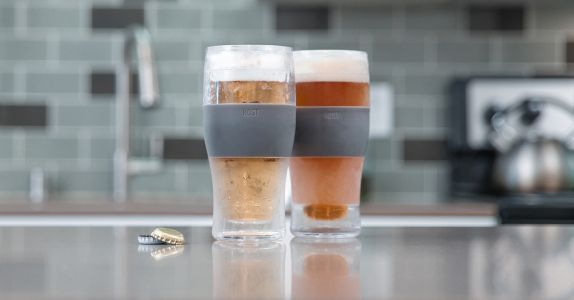 Never Drink A Warm Beer Again With These Ultra Cool Glasses