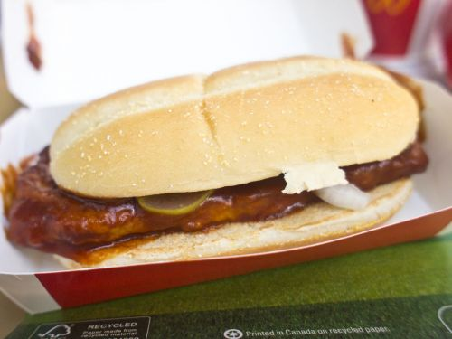 The McRib Is Returning to McDonald's for the First Time Since 2012