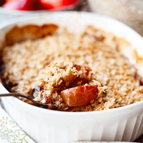Root Beer Apple Crisp With Cardamom
