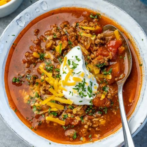 KETO BEEF CHILI RECIPE