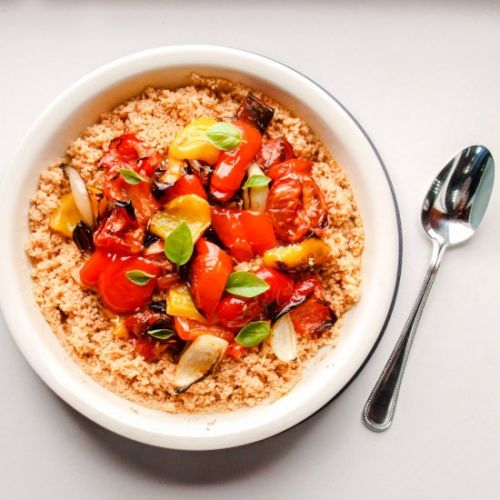 Roast Red Pepper & Tomato Couscous