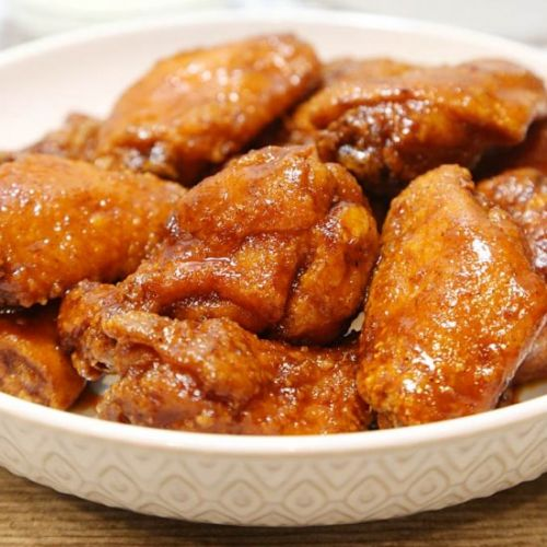 Crispy Sweet and Spicy Chicken Wing