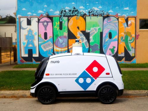 Beep Beep: Domino's Is Testing a Self-Driving Delivery Car