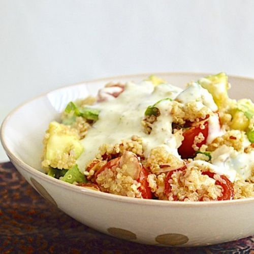 Summer Fresh Quinoa Salad